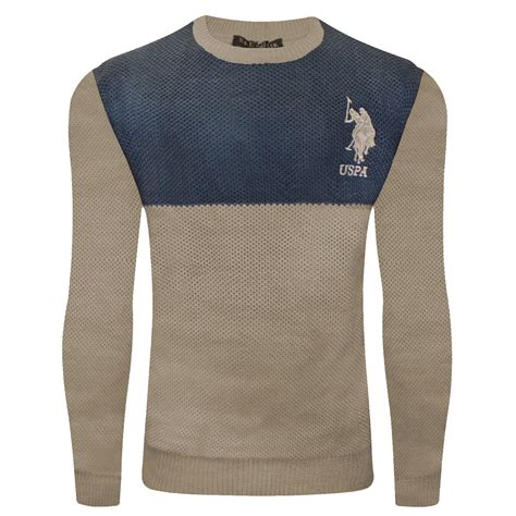 Polo Knit Pullover us polo assn cable knit jumpers pullover sweater for