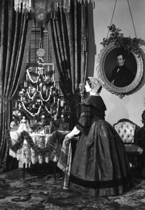christmas decorations in the 1800s vintage photos of in the era neatorama