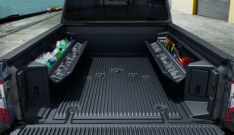 truck bed storage containers waterproof storage box for truck bed