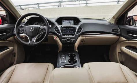 Acura Suv Interior by Traverse Mpg Autos Post