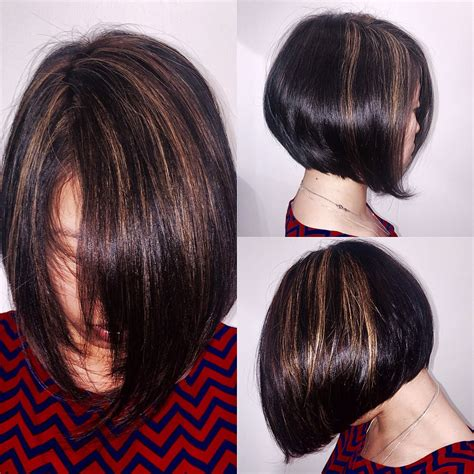 hair highlight for asian asian bob haircut by jaime yelp male models picture