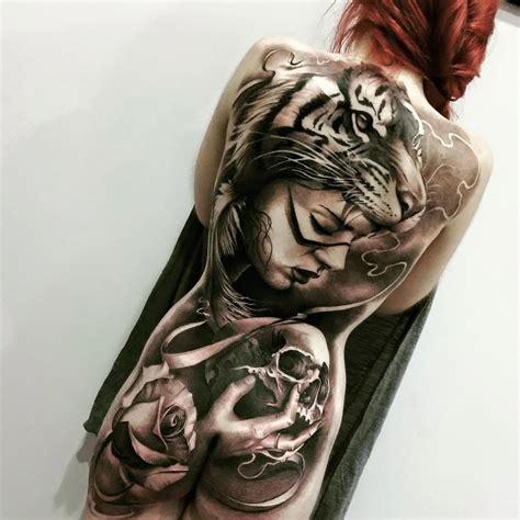 tattoo animal girl 15 trendy animal headpiece tattoos tattoodo