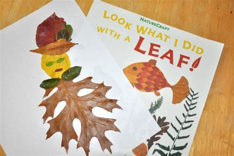 kindergarten activities with leaves crafts with fall leaves