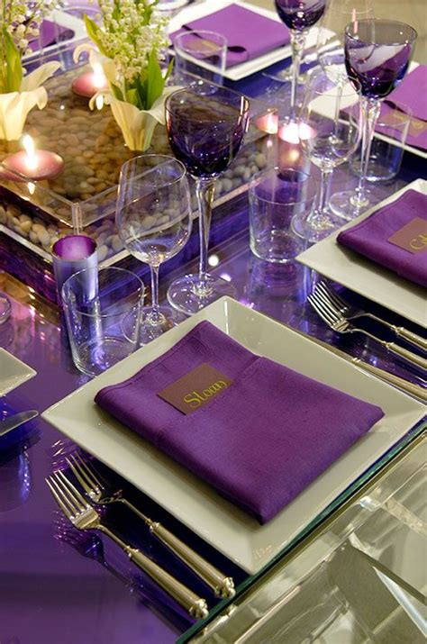 eggplant colored table linens best 25 eggplant color ideas on