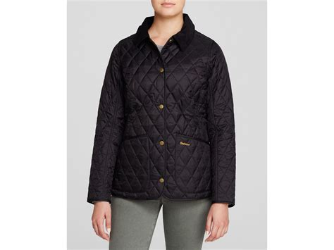 Barbour Black Quilted Jacket by Barbour Annandale Quilted Jacket In Black Lyst