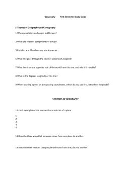 5 themes of geography study guide what causes climate worksheet p