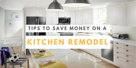 how to remodel a home on a shoestring budget dengarden tips to save money on a kitchen remodel best buy
