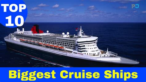 what is the biggest cruise ship in the world top 10 biggest cruise ships in the world 2017 updated list
