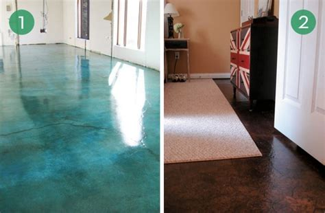 stylish concrete floor finishes do it yourself as 10 easy and inexpensive diy floor finishes curbly