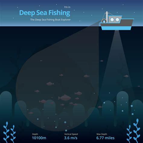 deep sea fishing boat vector deep sea fishing illustration fishing ship download