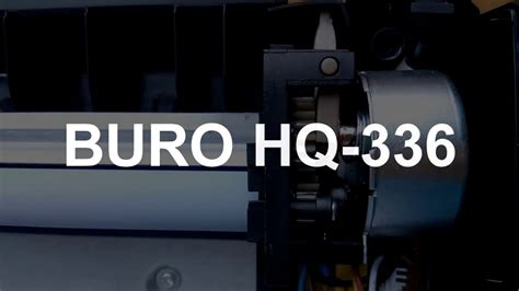 buro hq 336 ламинатор buro hq 336