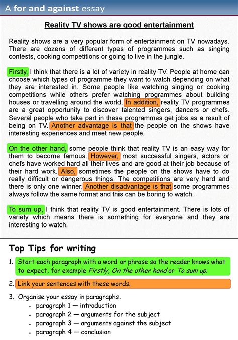 essay learnenglish teens british council