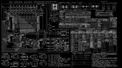 Free Blueprints by Download Wallpapers Download 2560x1440 Science Schematic