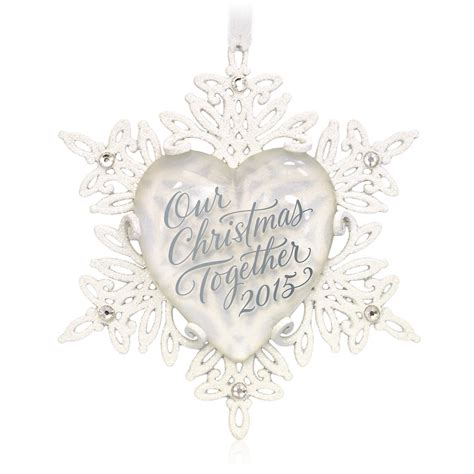 2015 our christmas together hallmark keepsake ornament