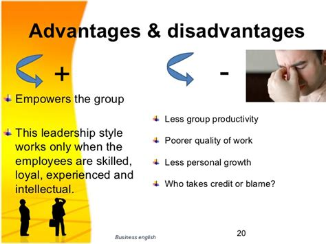 advantages disadvantages of people oriented leadership styles leadership presentation