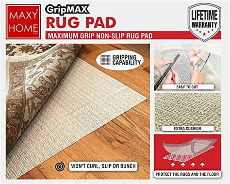 non slip rugs for wooden floors non slip rug pad gripmax premium anti slip rug pad for area rugs carpets runners