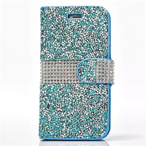 Op4805 Flip Cover Wallet Bling Glitter For Iphone 6 Plus Kode Bi 1 For Iphone 6 6s Plus Luxury Glitter Bling Leather