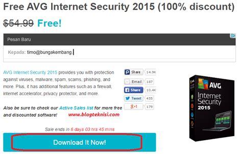 Avg Security 3 Komputer Untuk 2 Tahun free antivirus avg security 2015 dengan lisensi