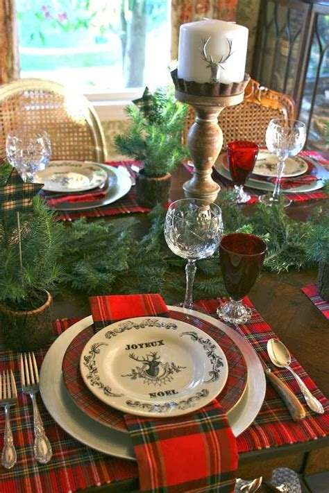 ideas for photos 35 cozy plaid d 233 cor ideas for christmas digsdigs