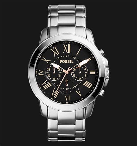 Jam Tangan Fossil Tfs2312 1 fossil fs4994 grant chronograph stainless steel