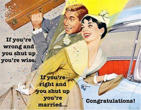 Wedding Congratulations Humorous by Wedding Congratulations Card Humorous Retro Vintage