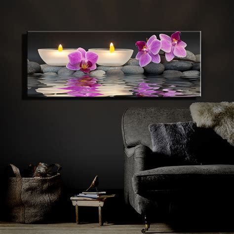 lighted canvas on pinterest light up canvas canvas led lighted flicking tea wax candles with orchids near