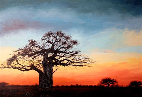 imagenes de paisajes oleo im 225 genes arte pinturas paisajes africanos oleo