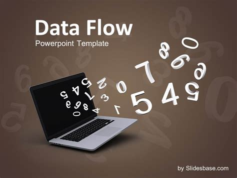 Data Flow Powerpoint Template Slidesbase Data Powerpoint Template