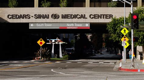 Confirmed Has Been Admitted To Cedars Sinai by Diagnostic Disaster Second Ca Hospital Reports Superbug