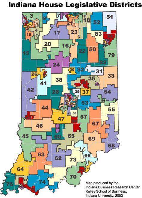 indiana zip code map boundary maps stats indiana