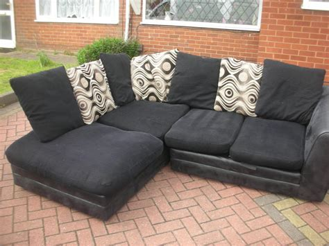 black corner sofas for sale black suede corner sofa for sale dudley dudley
