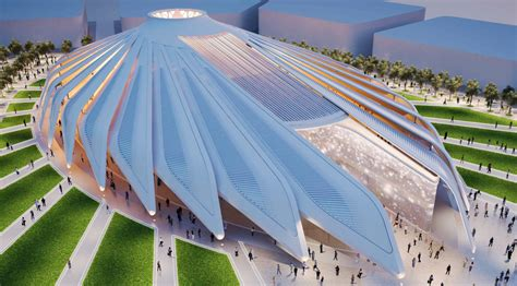 pavillon expo uae pavilion at expo 2020 dubai by santiago calatrava