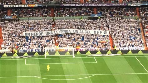 angel nieto marca real madrid supporters pay tribute to angel nieto marca