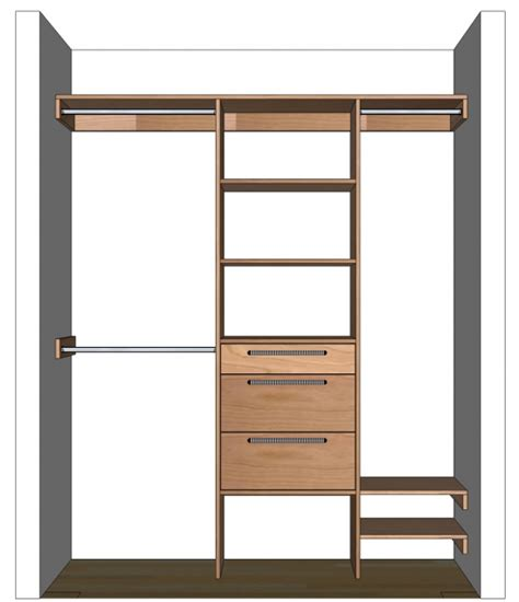 Closet Cabinets Diy by Closet Organizers Do It Yourself Wardrobe Closet Design