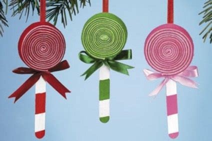 christmas ornaments for 3rd graders to make lollipop ornaments third grade crafts discover best ideas