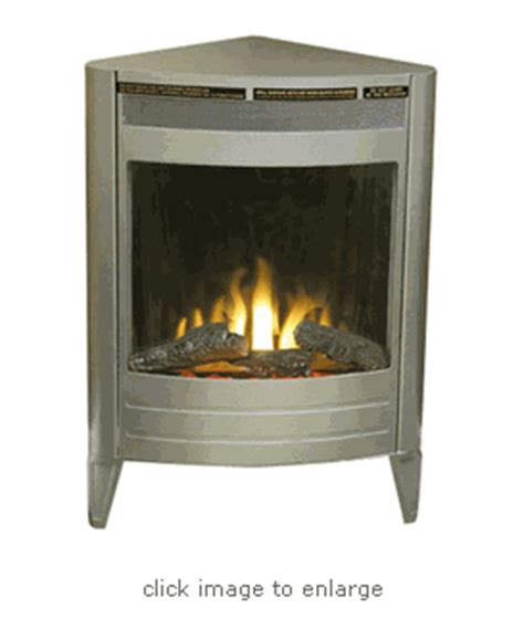 pewter corner unit electric fireplace