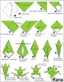 Traditional Origami Frog - origami rana