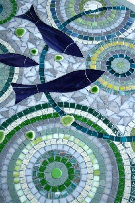 pesci da cucinare decorare un tavolo da cucina mosaico con pesci tavolo