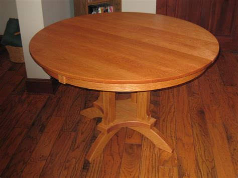 kitchen table mission style oak by kbiniowa
