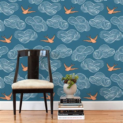 temporary wallpaper tiles paint alternatives for renters popsugar home