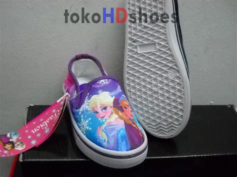 Sepatu Roda Anak Perempuan Frozen jual sepatu slipon slop anak cewek perempuan gambar frozen