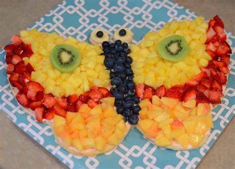 fruit butterfly platter food make ahead pinterest