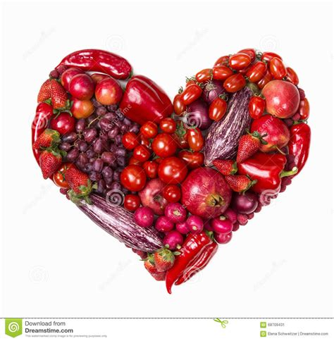 hochzeitstorte obst herz of fruits and vegetables stock photo image