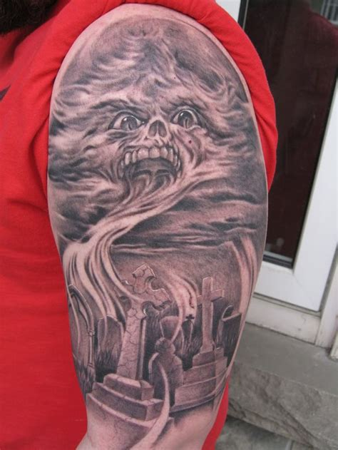 living dead tattoo 59 best return of the living dead tattoos images on
