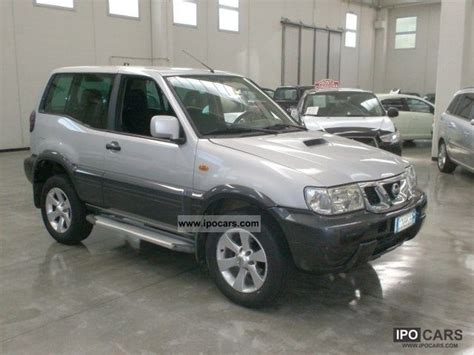 nissan terrano 2006 2006 nissan terrano 3 0 dit 3p hard top sport car photo