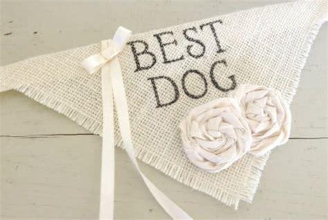 Dog Bandana Best Dog Ring Bearer Wedding Collar Girl