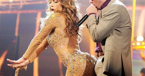 j lo la nights comforter pitbull looks very excited by his performance with