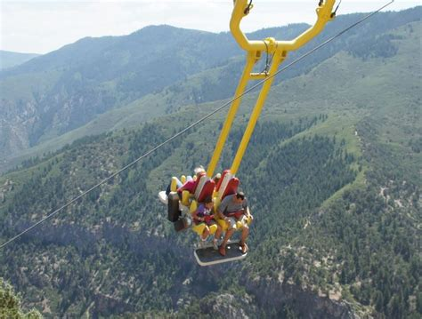 glenwood springs canyon swing 473 best images about amusement parks carnivals fairs on