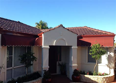 canvas awnings perth fixed canvas awnings wembley awnings perth commercial