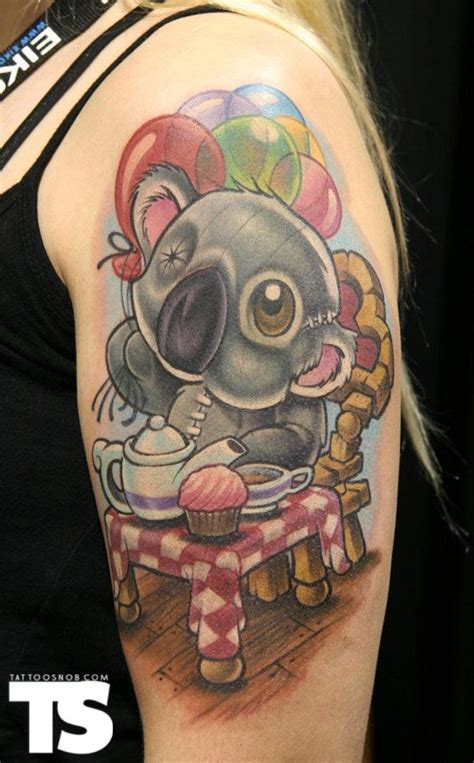 new school tattoo vegas jime litwalk things i like pinterest koalas bear